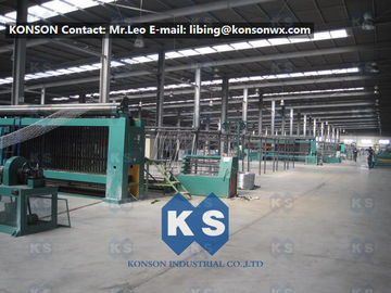 Heavily Galvanized Galfan And PVC Coated Hexagonal Wire Mesh Making Machine