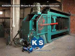 چین Higher Efficiency 100X120mm Mash Size Galvanised Wire Hexagonal Wire Netting Machine تامین کننده