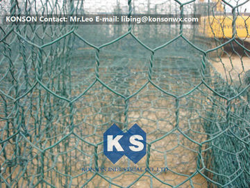 High Corrosion Resistant Galvanized and PVC Coated Welded Gabions for Mesh Fencing